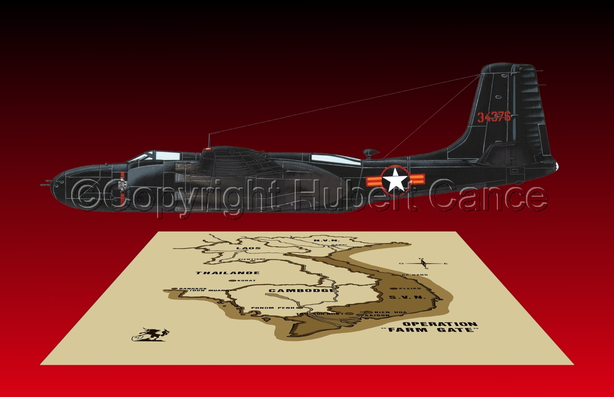 "Douglas B-26C ""Invader"" (Map #2.6) (large view)"