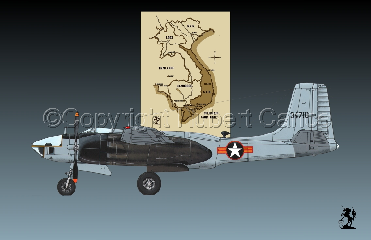 "Douglas RB-26L ""Invader"" (Map #2.1) (large view)"