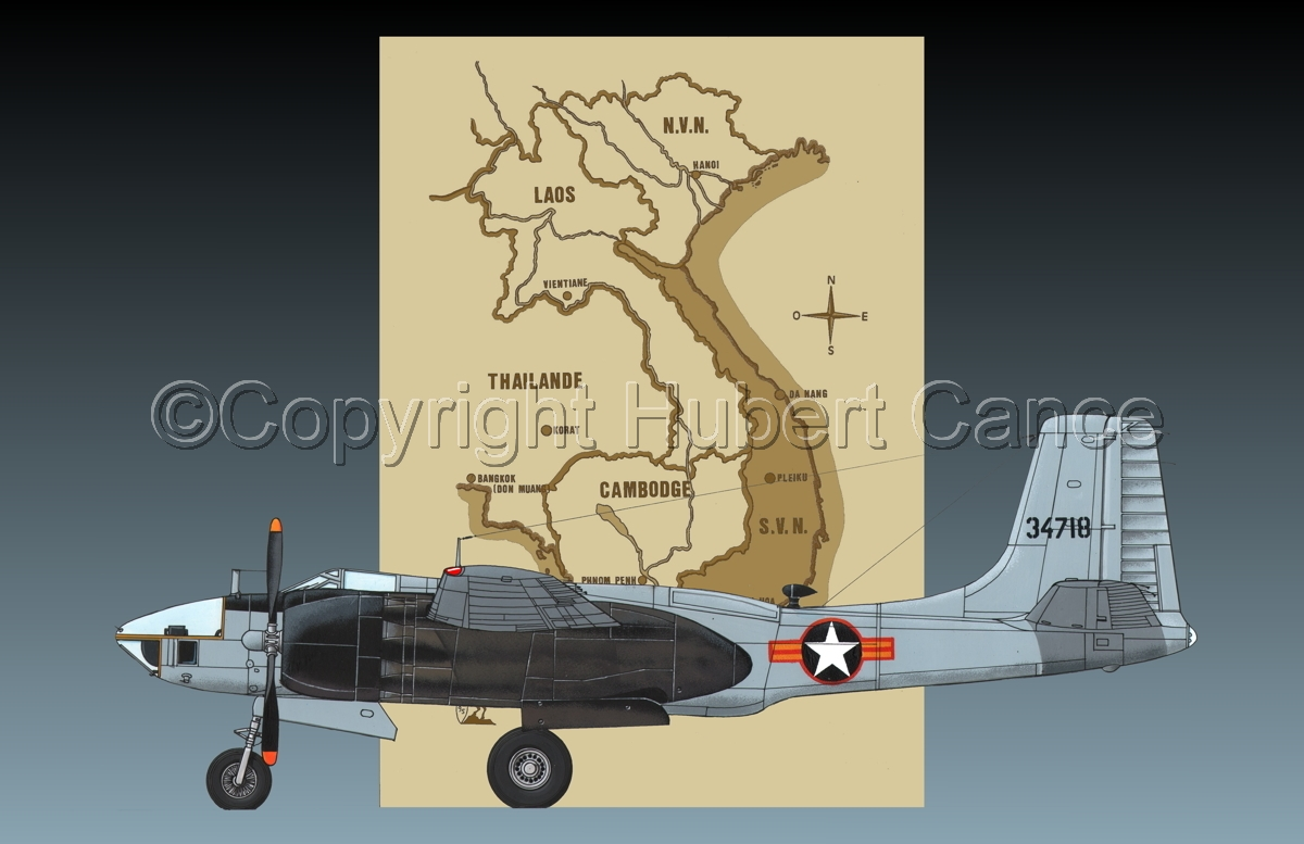 "Douglas RB-26L ""Invader"" (Map #2.2) (large view)"