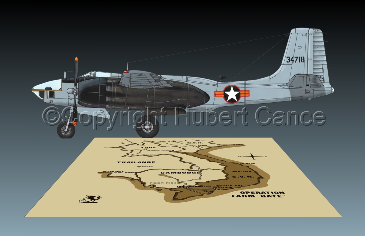 "Douglas RB-26L ""Invader"" (Map #2.3) (large view)"