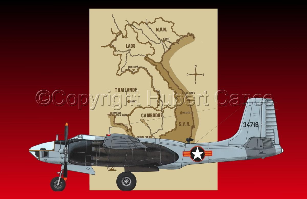 "Douglas RB-26L ""Invader"" (Map #2.5) (large view)"