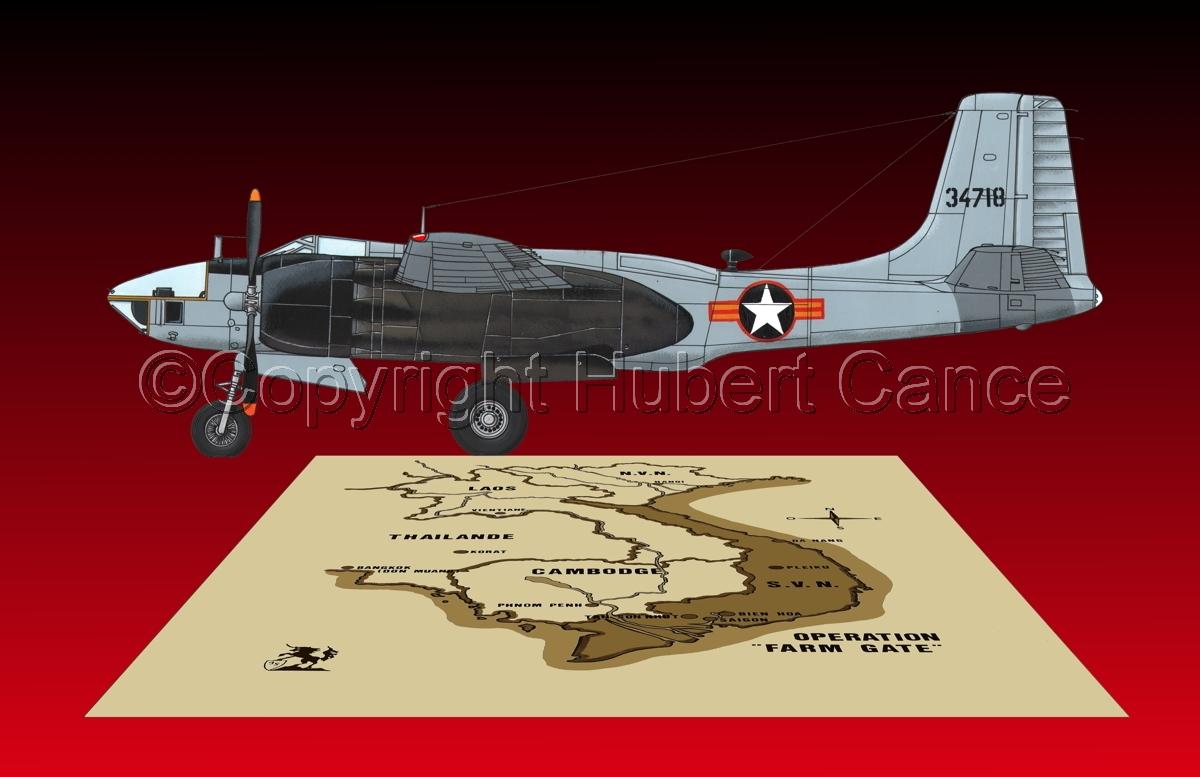 "Douglas RB-26L ""Invader"" (Map #2.6) (large view)"