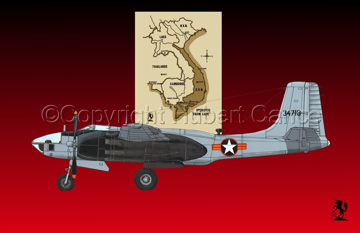 "Douglas RB-26L ""Invader"" (Map #2.4) (large view)"