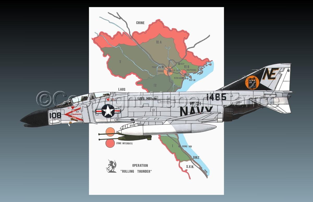 "McDD F-4B ""Phantom II"" (Map #1.2) (large view)"