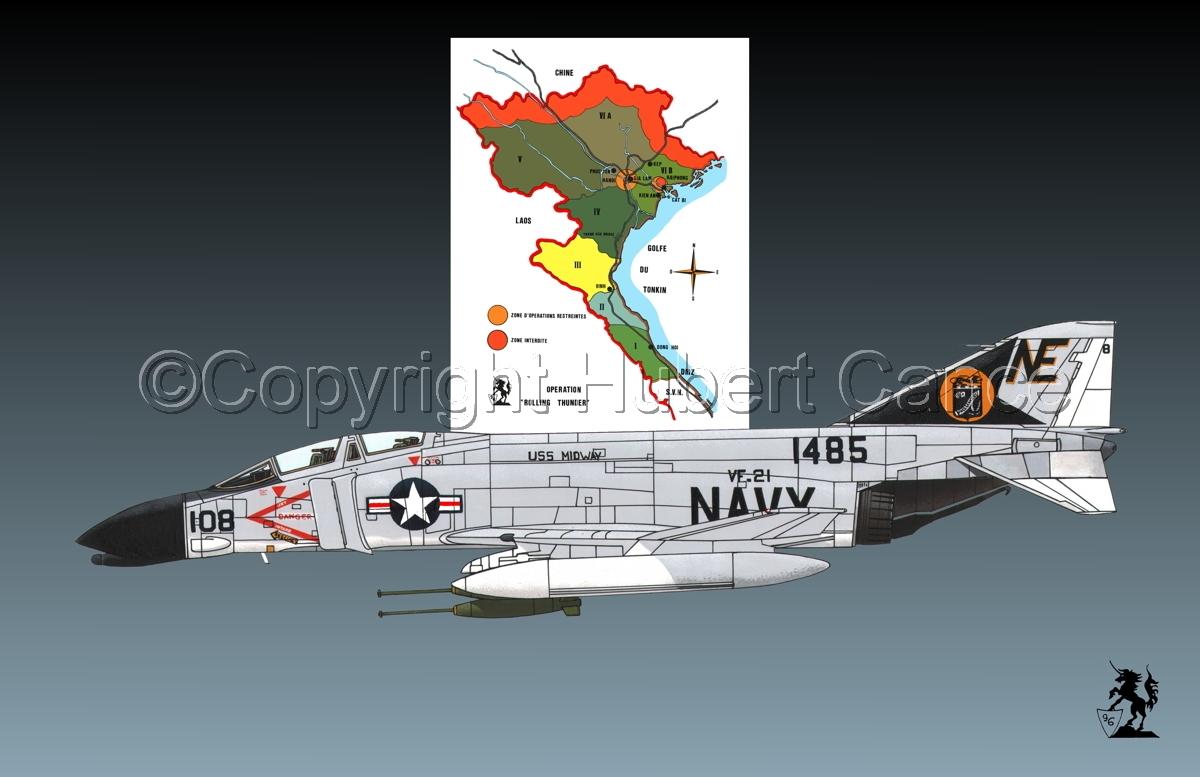 "McDD F-4B ""Phantom II"" (Map #1.1) (large view)"