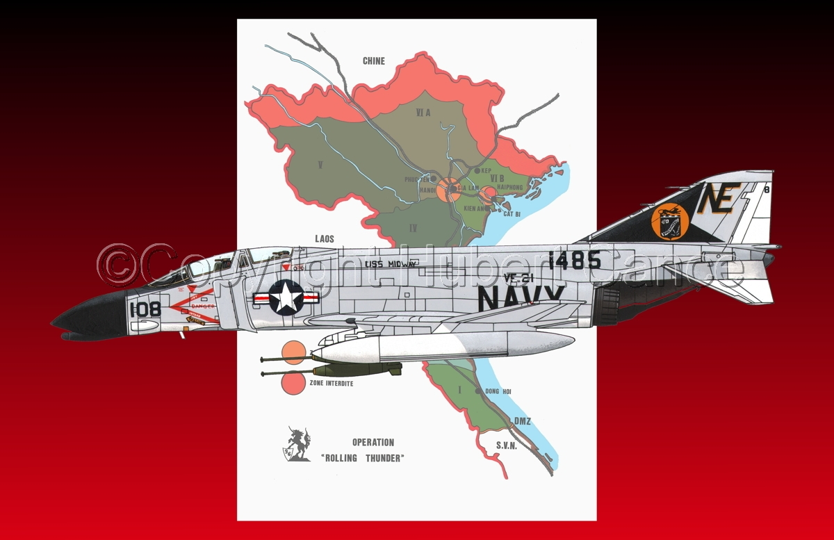 "McDD F-4B ""Phantom II"" (Map #1.5) (large view)"