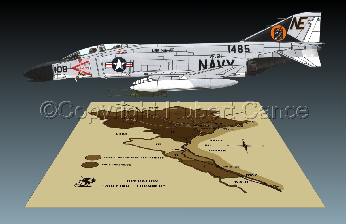 "McDD F-4B ""Phantom II"" (Map #2.3) (large view)"