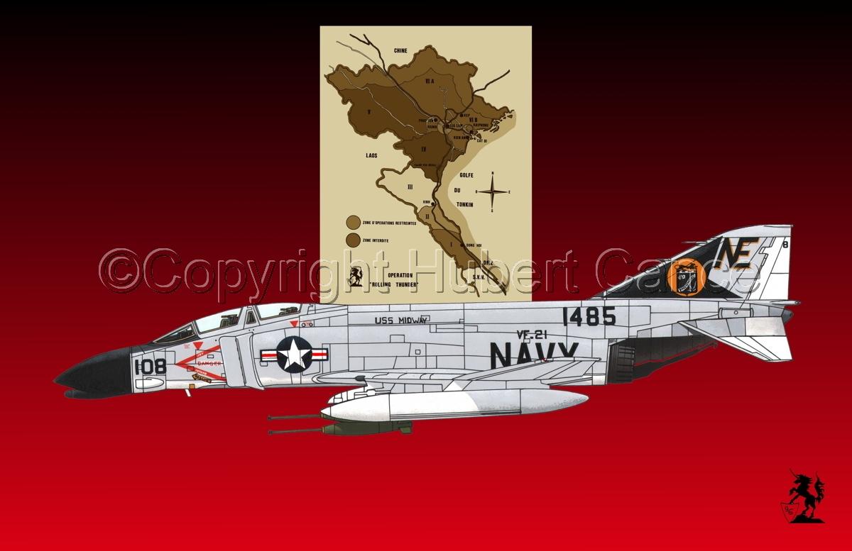 "McDD F-4B ""Phantom II"" (Map #2.4) (large view)"