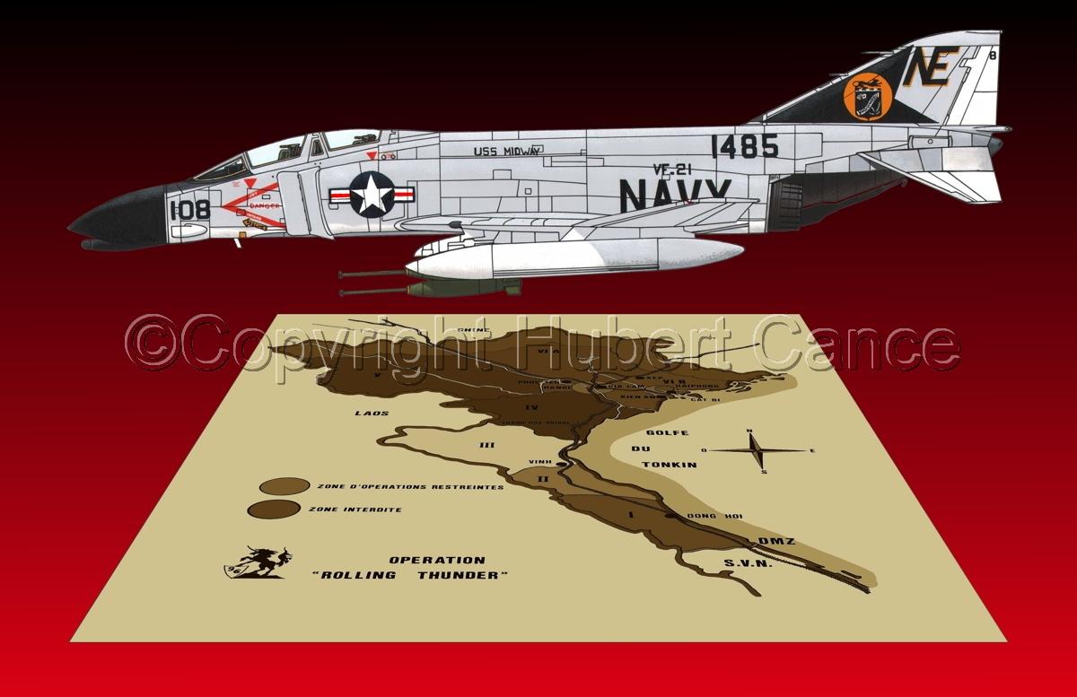 "McDD F-4B ""Phantom II"" (Map #2.6) (large view)"