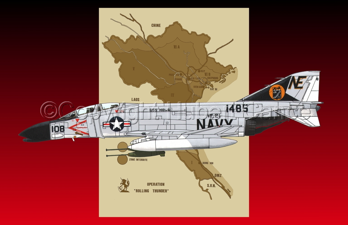 "McDD F-4B ""Phantom II"" (Map #2.5) (large view)"