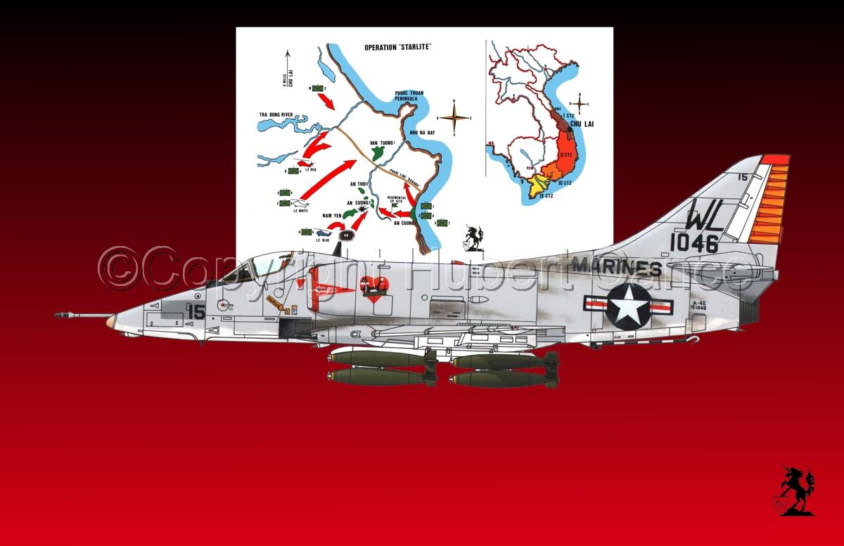 """Douglas A-4E """"Skyhawk"""" (Map #1.3) (large view)"""