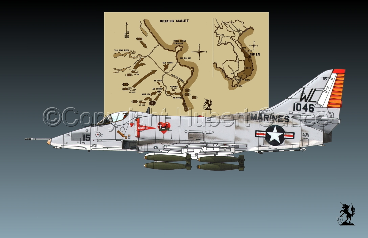 "Douglas A-4E ""Skyhawk"" (Map #2.1) (large view)"