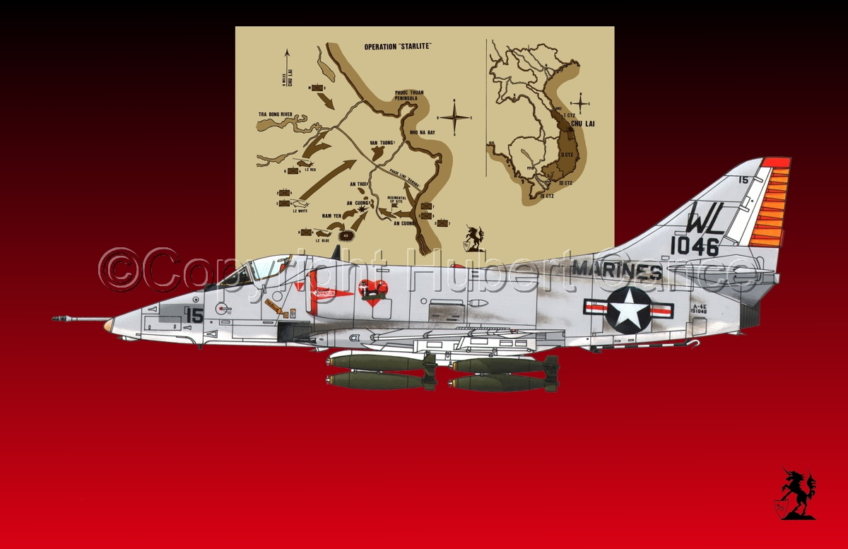 "Douglas A-4E ""Skyhawk"" (Map #2.3) (large view)"