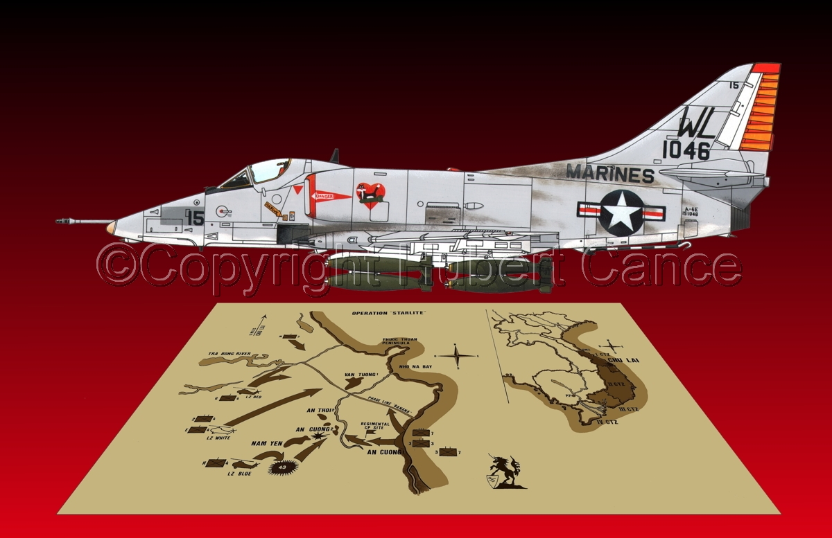 "Douglas A-4E ""Skyhawk"" (Map #2.4) (large view)"
