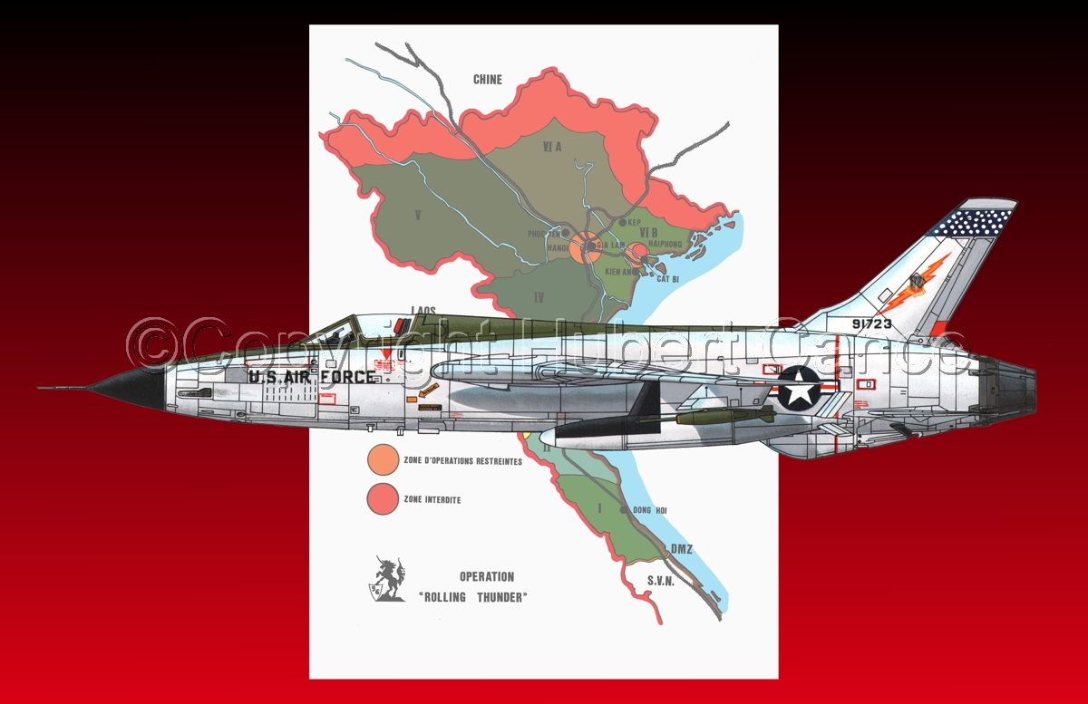 "Republic F-105D ""Thunderchief"" (Map #1.5) (large view)"