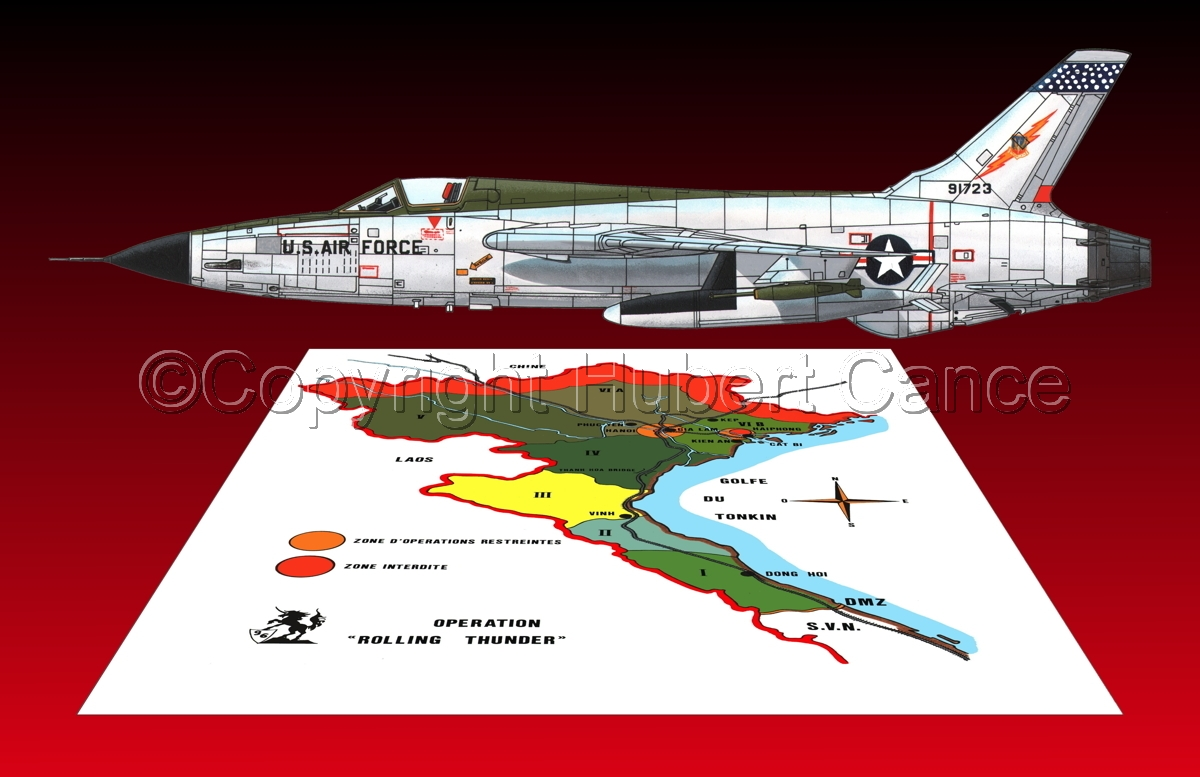 "Republic F-105D ""Thunderchief"" (Map #1.6) (large view)"