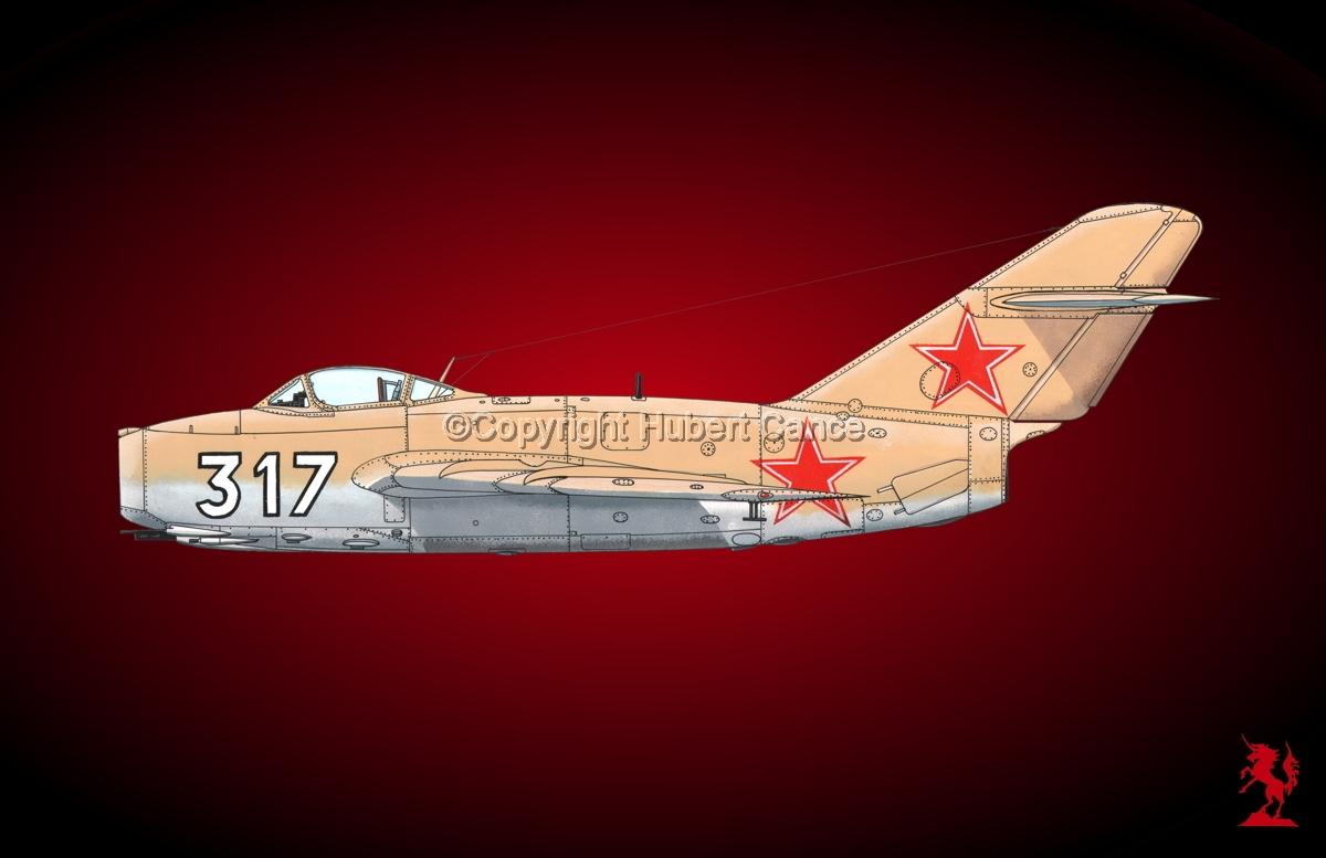Mikoyan Gurievitch MiG.15bis #3.4 (large view)