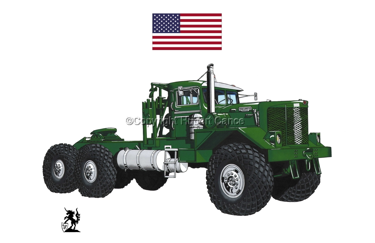 Kenworth Model 953 Tractor (Flag #1.1) (large view)