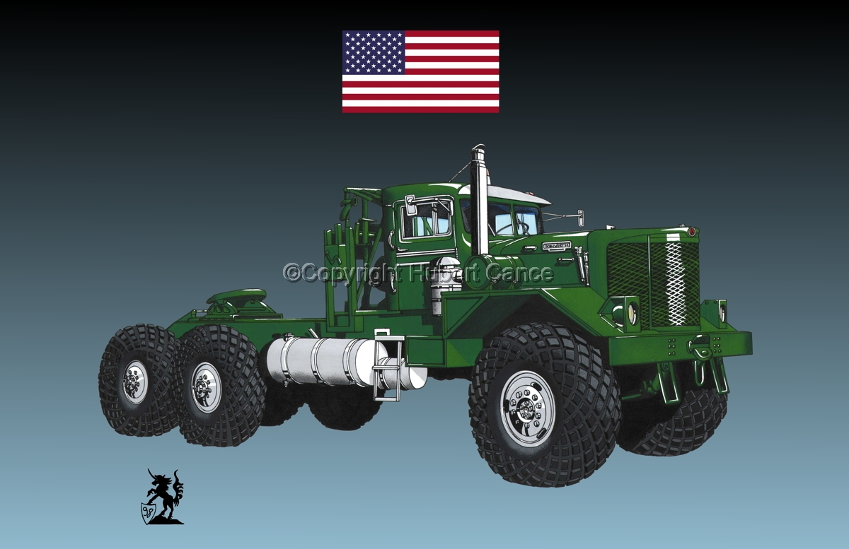 Kenworth Model 953 Tractor (Flag #1.3) (large view)