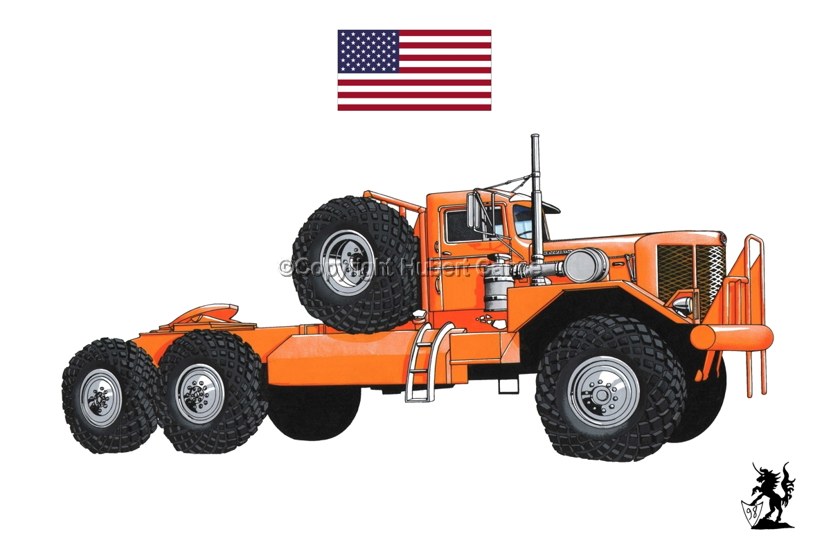 Kenworth Model 984 Tractor (Flag #1.1) (large view)