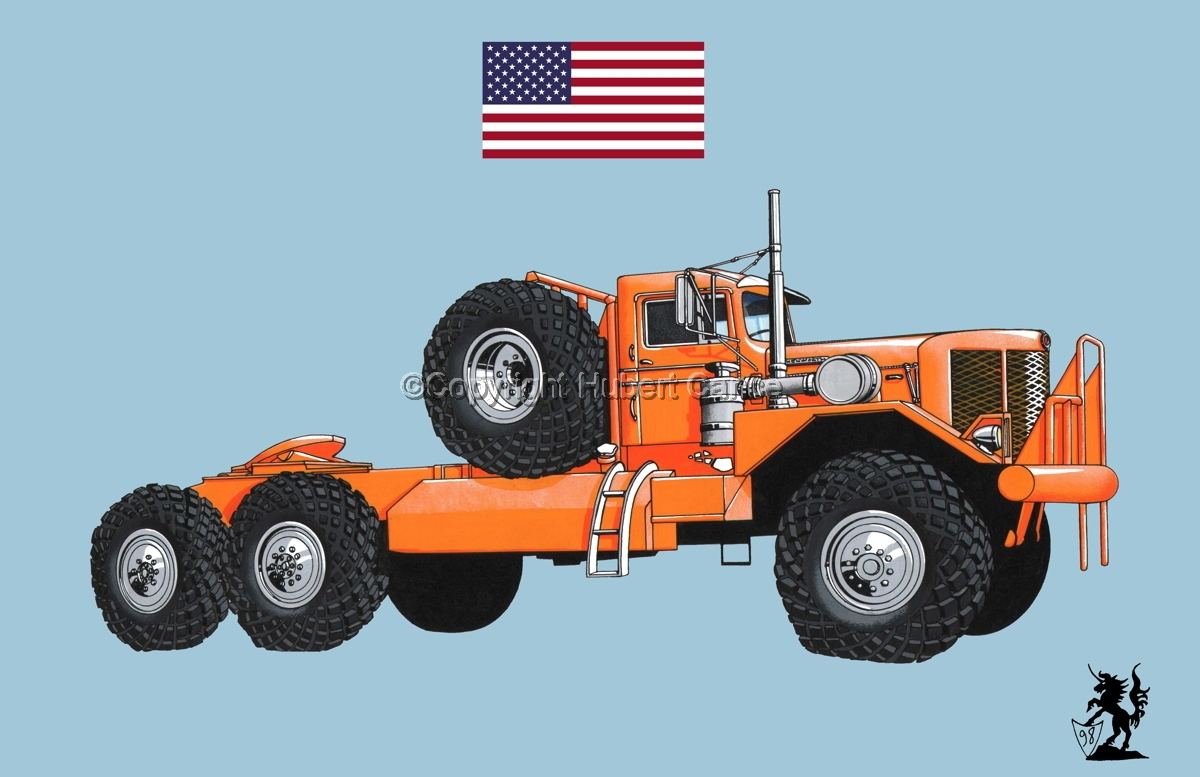 Kenworth Model 984 Tractor (Flag #1.2) (large view)