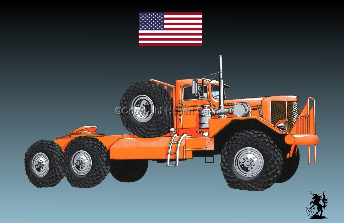 Kenworth Model 984 Tractor (Flag #1.3) (large view)