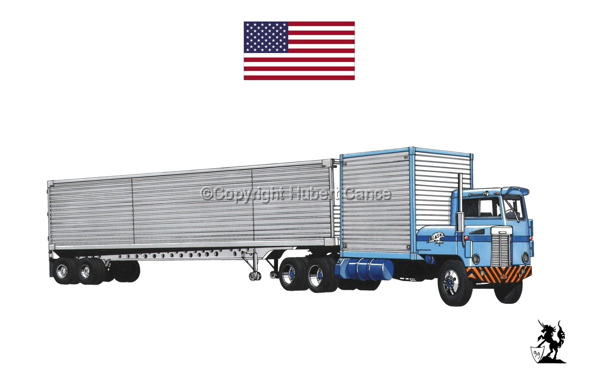 Kenworth CBE Tractor (Flag #1.1) (large view)