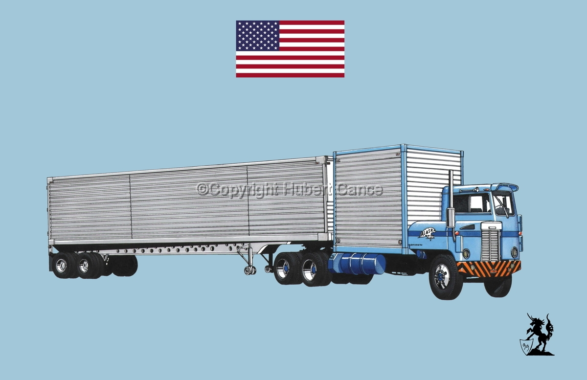 Kenworth CBE Tractor (Flag #1.2) (large view)