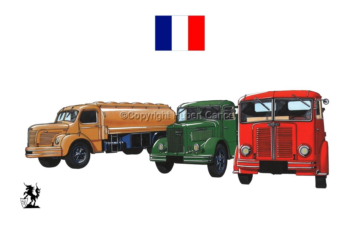 Berliet GLR8, GLB5 & GDC6W (Flag #1.1) (large view)