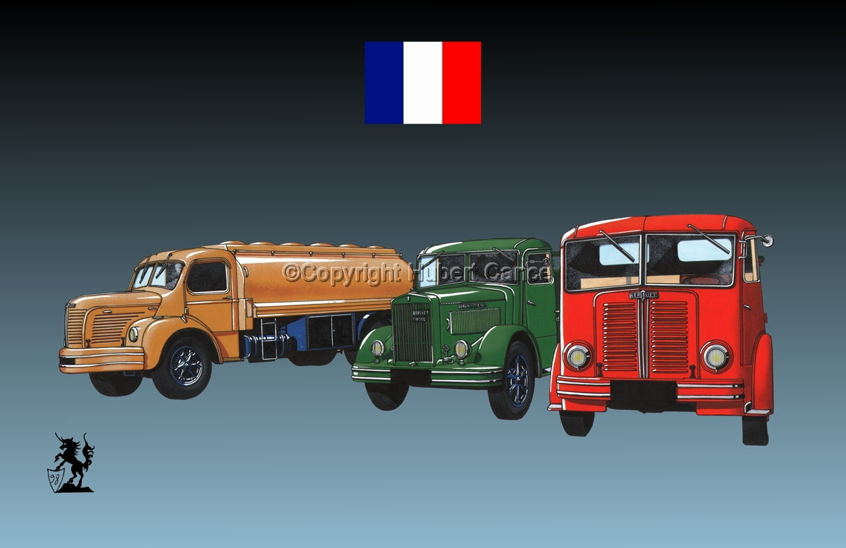 Berliet GLR8, GLB5 & GDC6W (Flag #1.3) (large view)