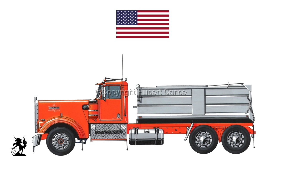 Kenworth W900 (Flag #1.1) (large view)