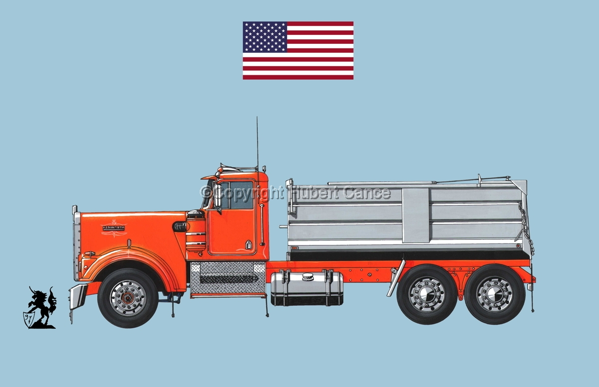Kenworth W900 (Flag #1.2) (large view)