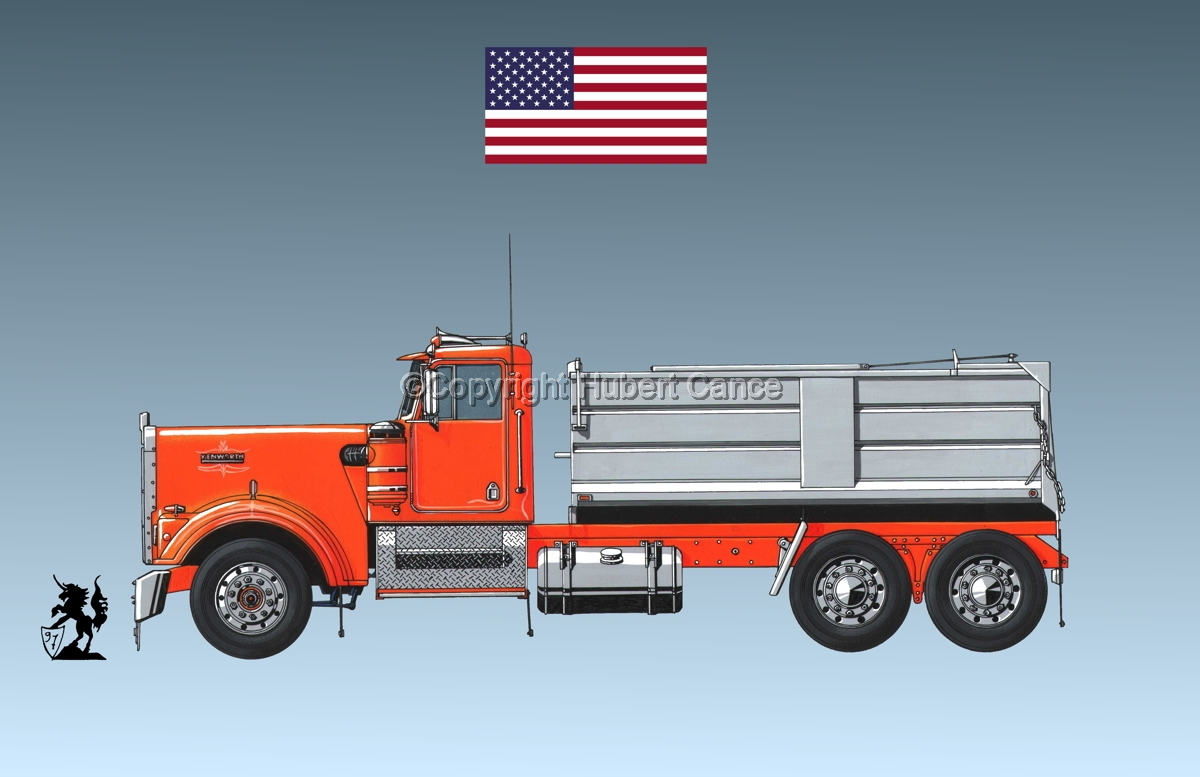 Kenworth W900 (Flag #1.3) (large view)