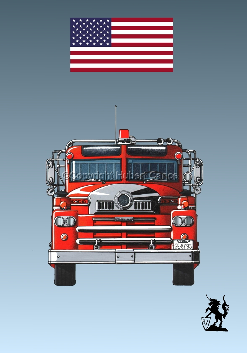Seagrave 1958 Fire Truck (Flag #1.3) (large view)