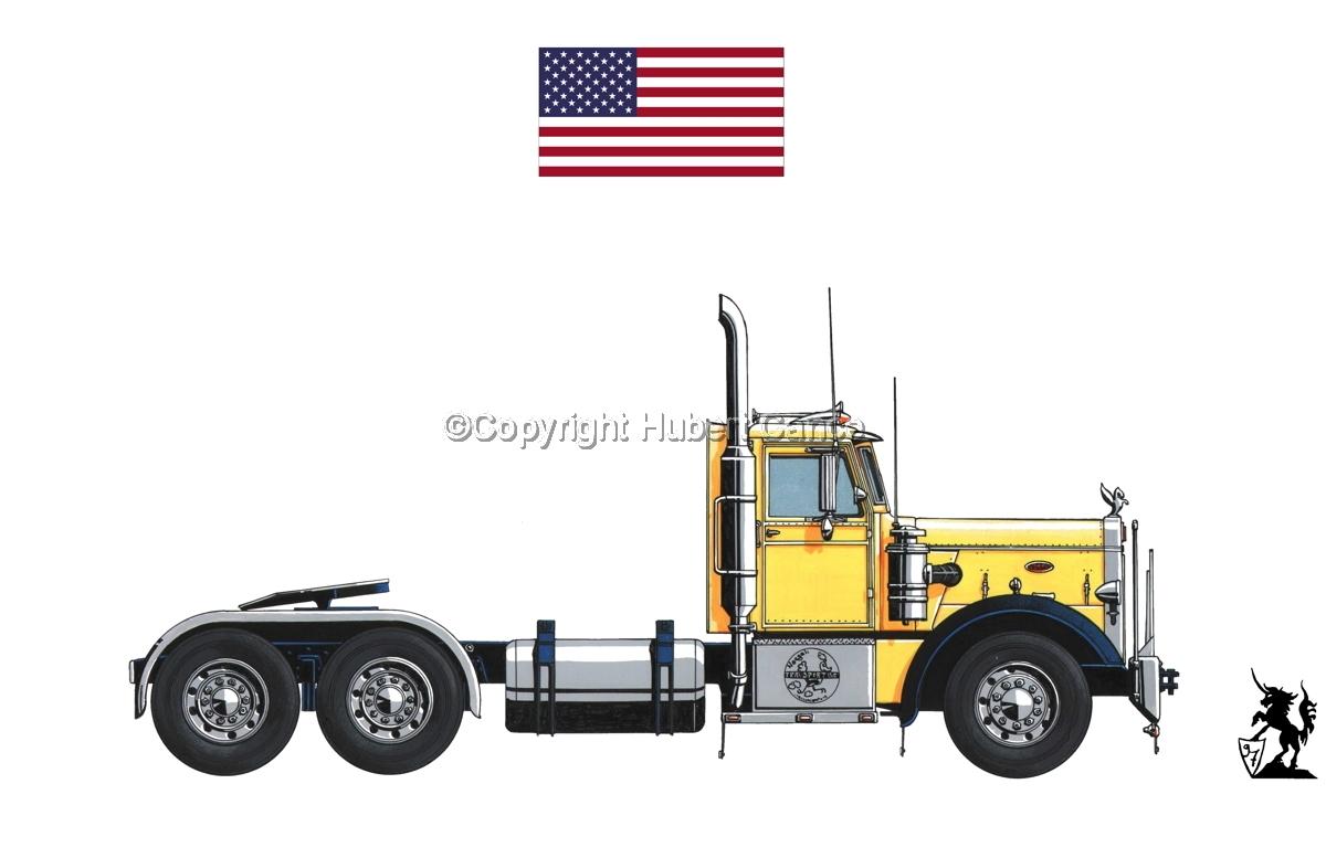 Peterbilt 351 (Flag #1.1) (large view)