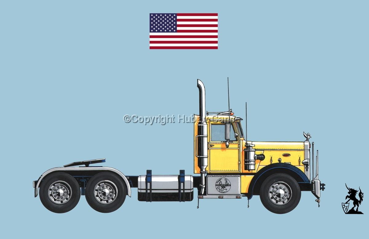 Peterbilt 351 (Flag #1.2) (large view)