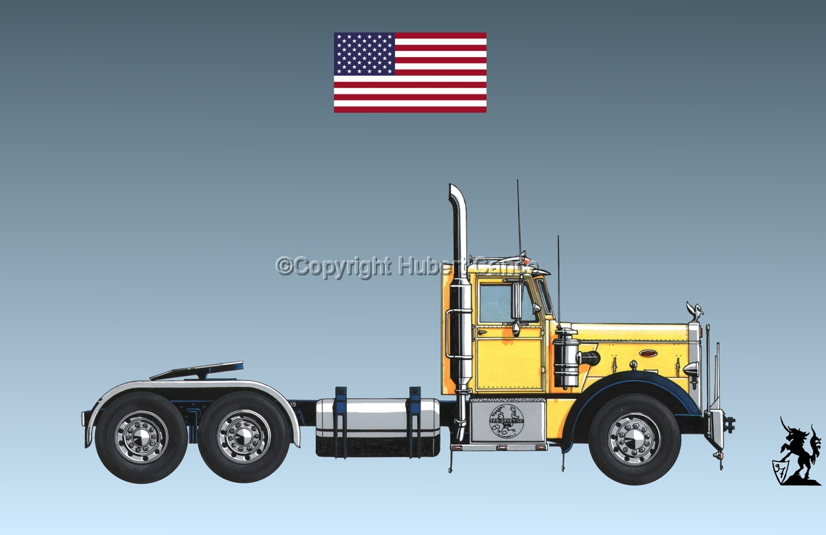 Peterbilt 351 (Flag #1.3) (large view)