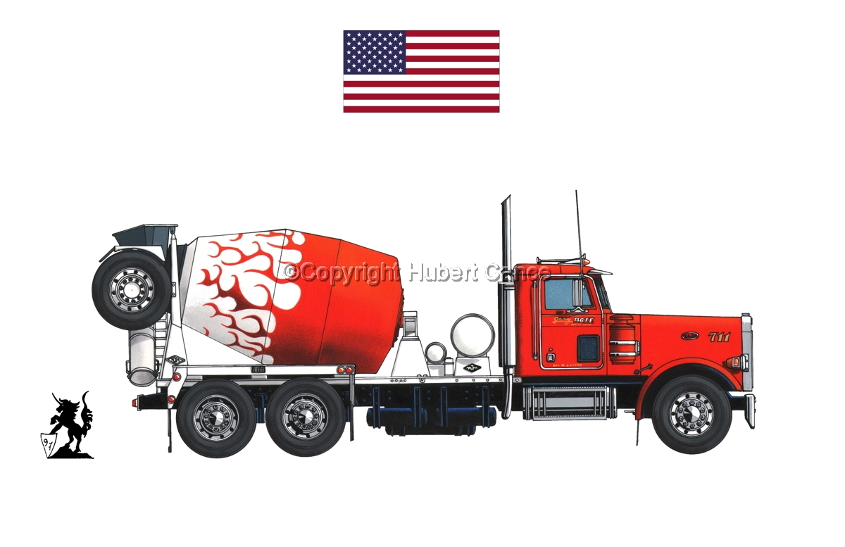 Peterbilt 357 (Flag #1.1) (large view)