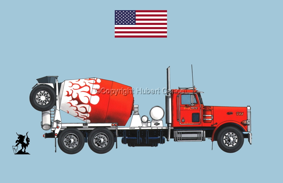 Peterbilt 357 (Flag #1.2) (large view)