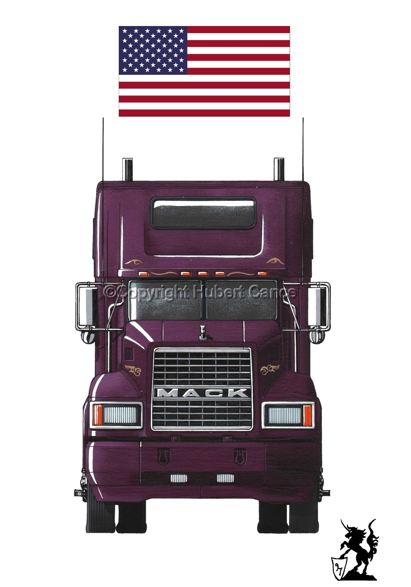 Mack CL600 (Flag #1.1) (large view)
