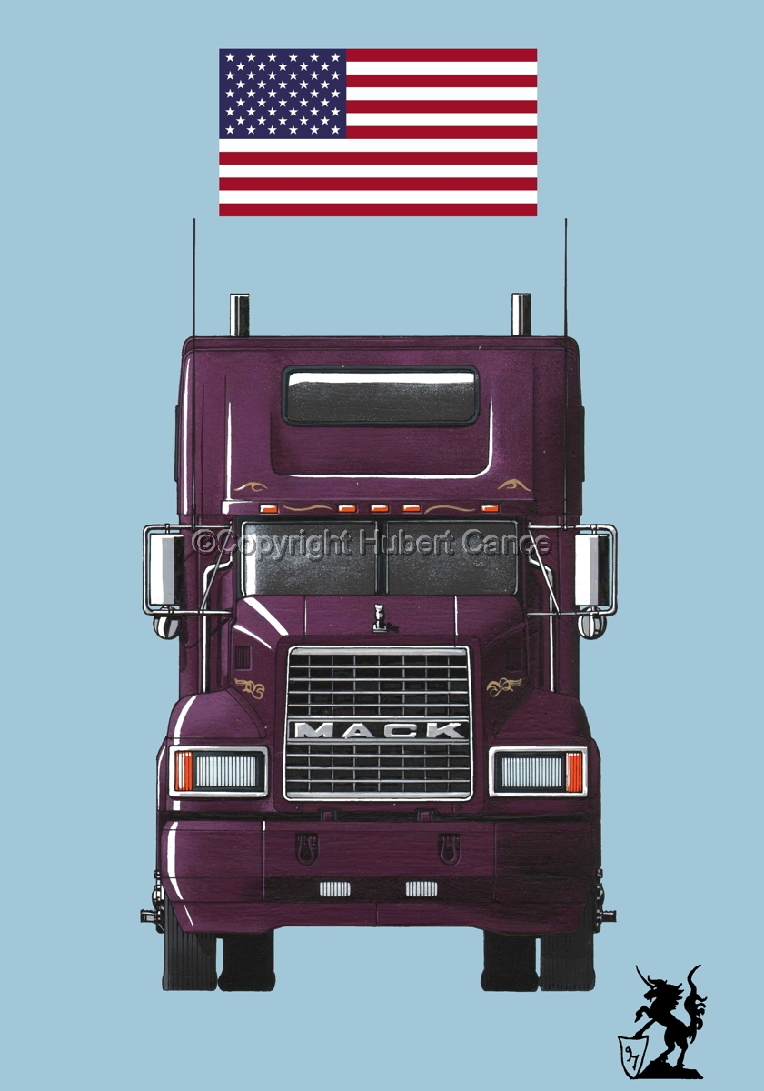 Mack CL600 (Flag #1.2) (large view)