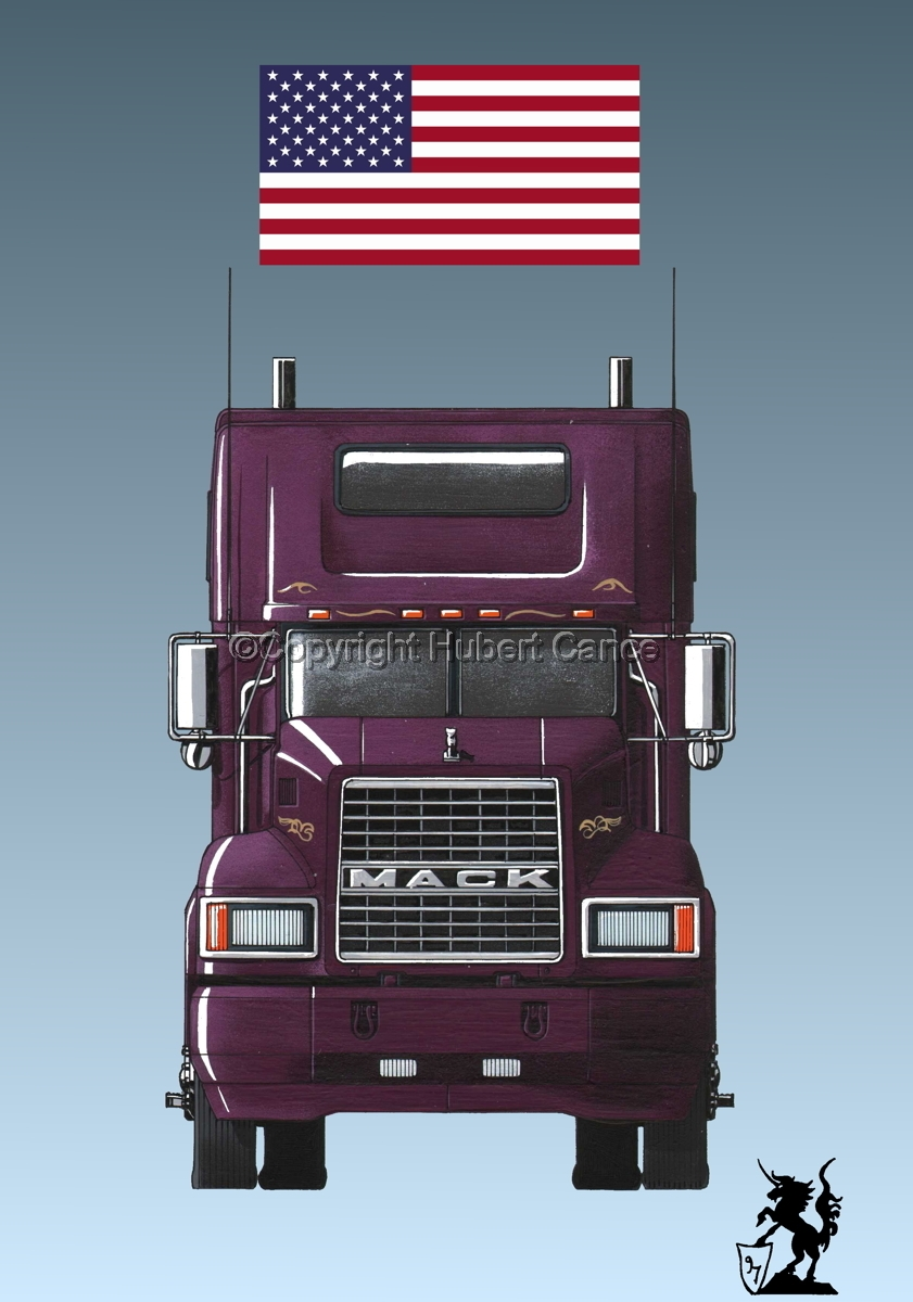 Mack CL600 (Flag #1.3) (large view)