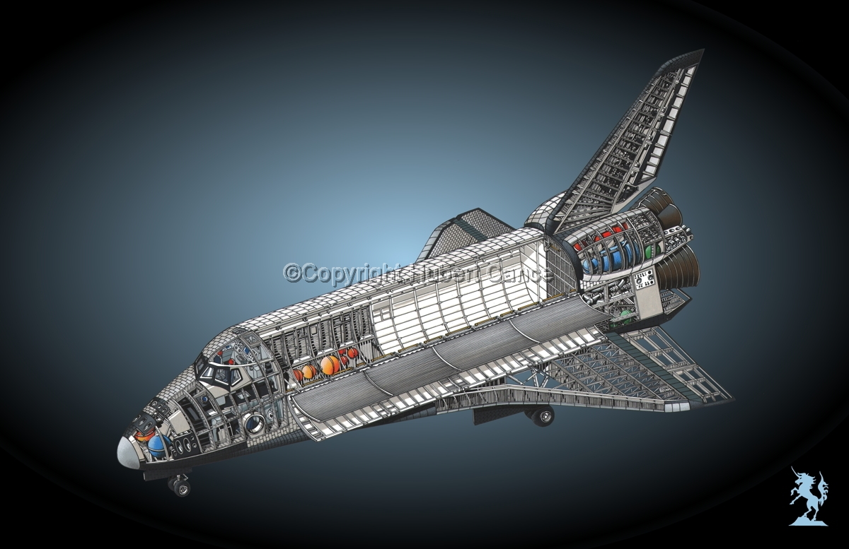 Rockwell Space Shuttle #1.4 (large view)