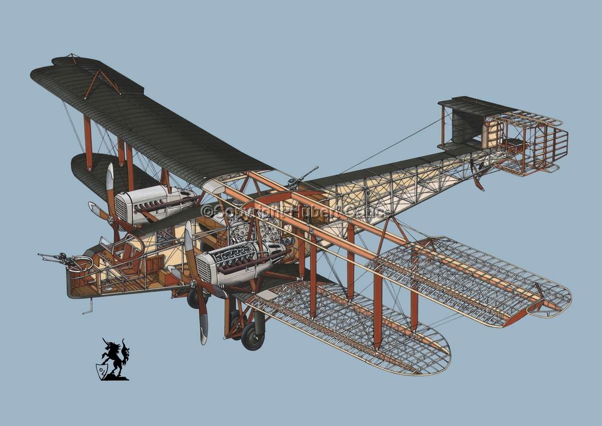 Handley Page O/400 #1.5 (large view)