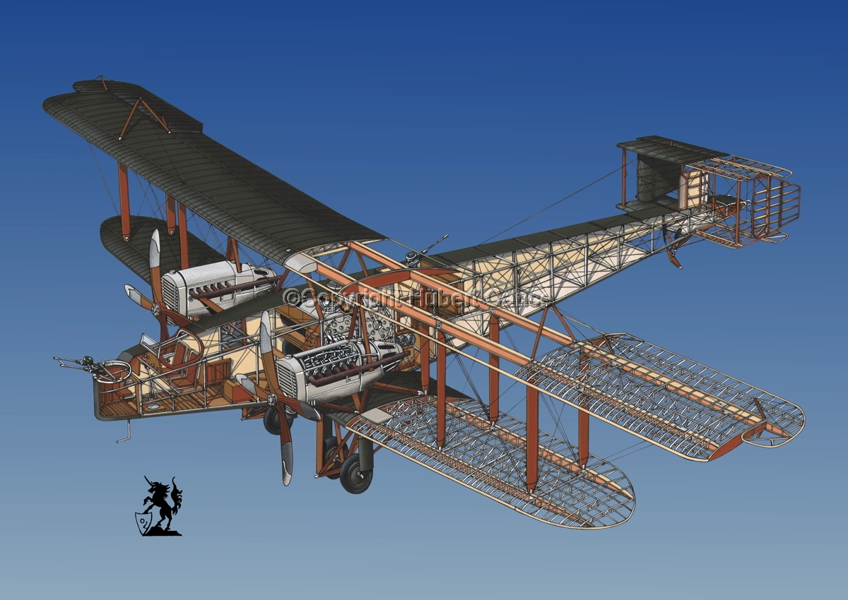 Handley Page O/400 #1.6 (large view)