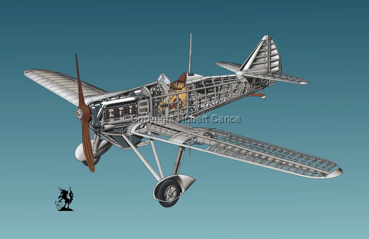 Dewoitine D.501 #1.6 (large view)