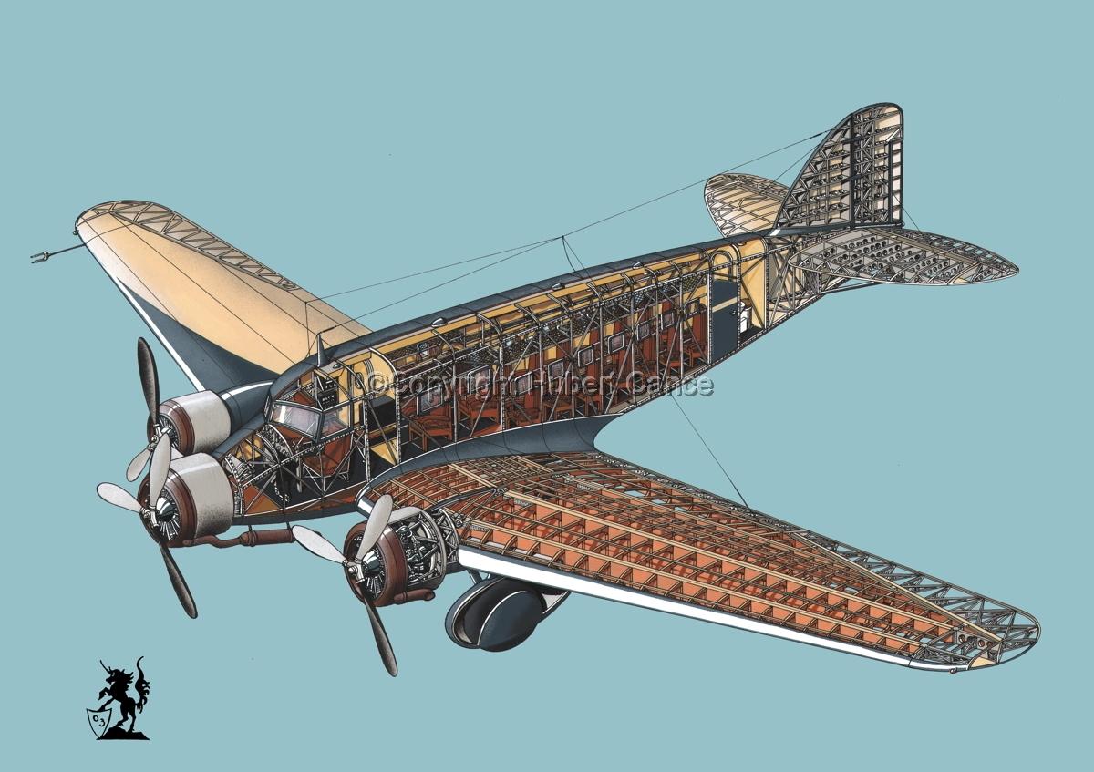 Savoia Marchetti SM-73 #1.4 (large view)