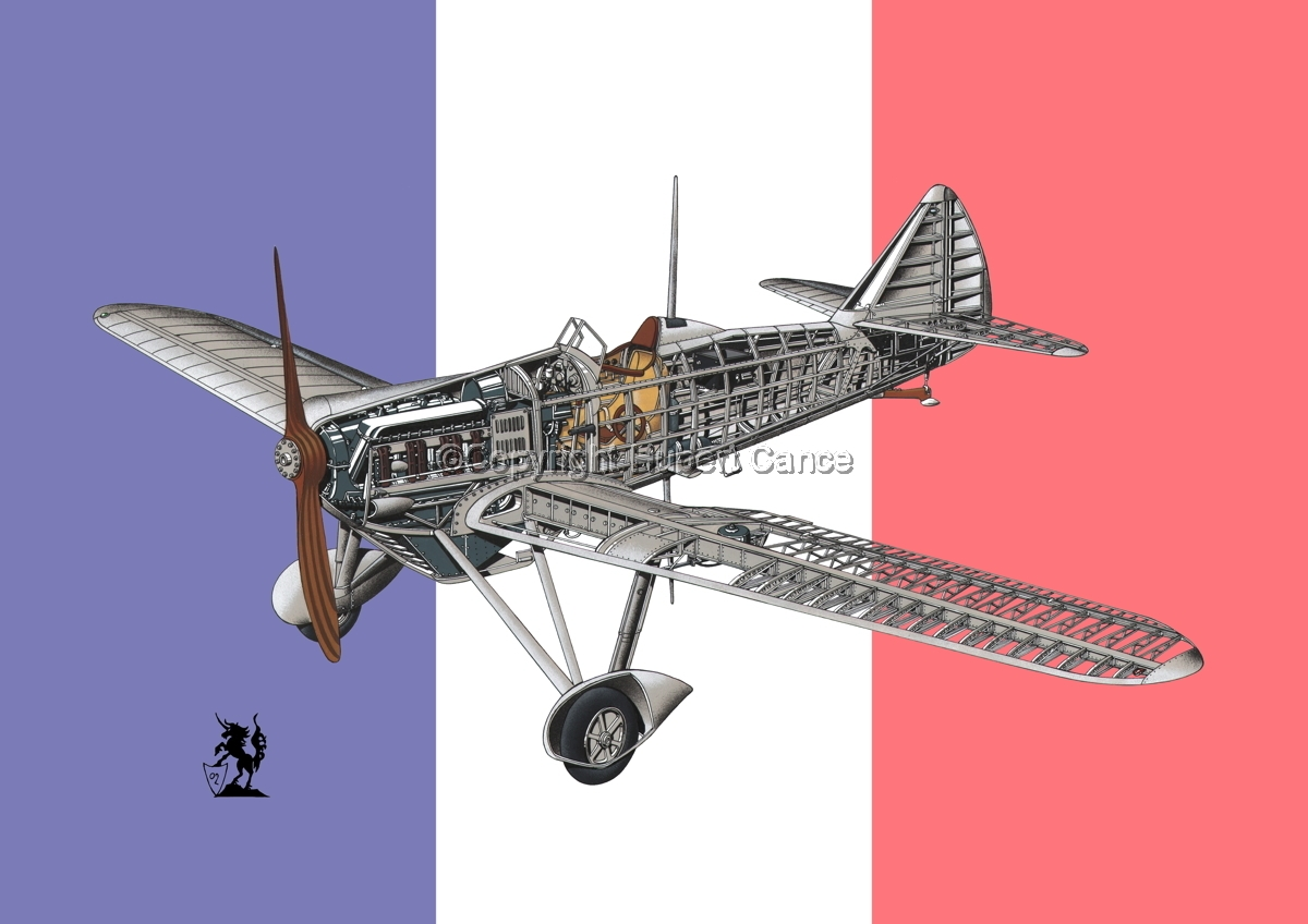 Dewoitine D.501 (Flag #1) (large view)