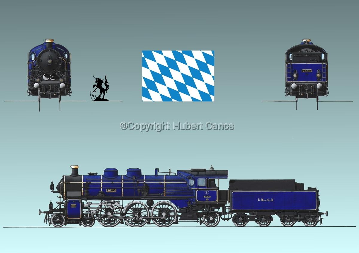 Maffei S3/6 (Bayern) Flag #2.3 (large view)