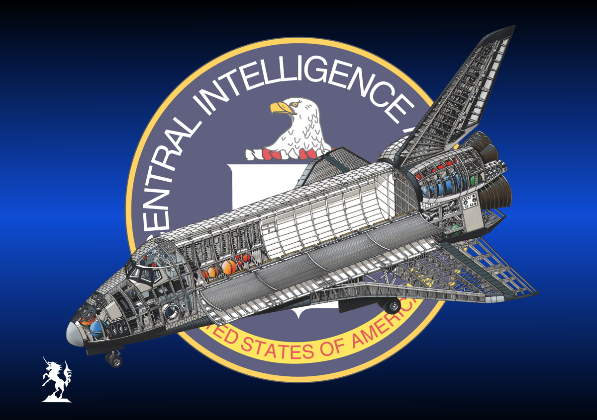 Rockwell Space Shuttle (Insignia #2) (large view)